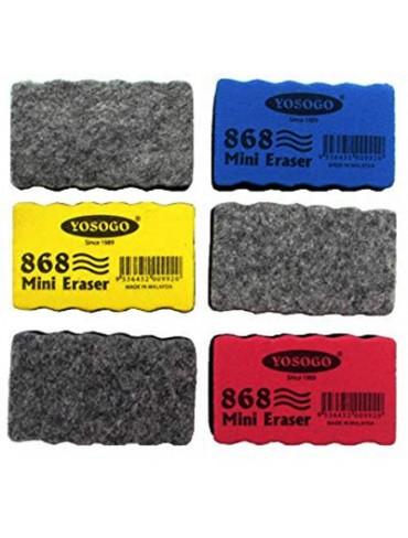 Yosogo Duster Mini White Board Eraser -Pack of 12
