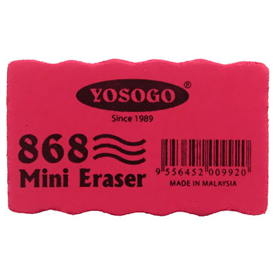 Yosogo Duster Mini White Board Eraser -Pack of 12