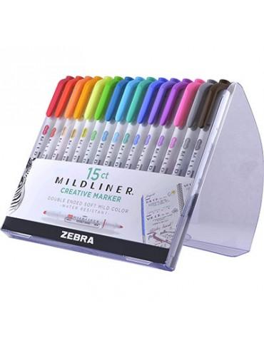 Zebra Pen Mildliner -  Double Ended Highlighter