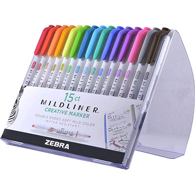 Zebra Pen Mildliner -  Double Ended Highlighter
